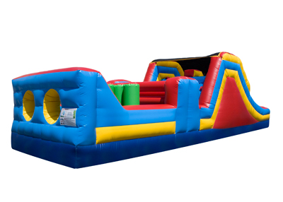 obstacle course, inflatable games