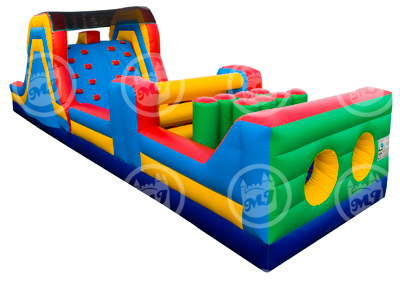 obstacle course, inflatable obstacle course