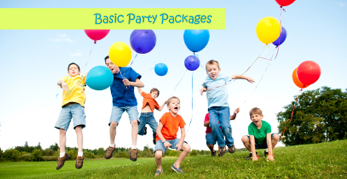 Basic Party Packages