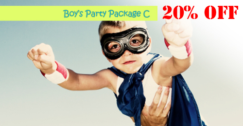 boys party package C