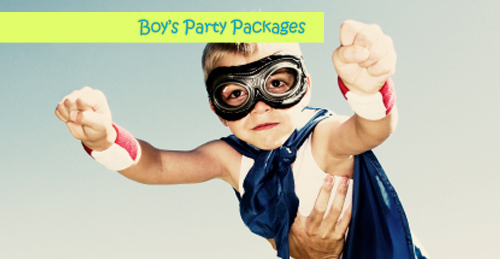 boys party packages