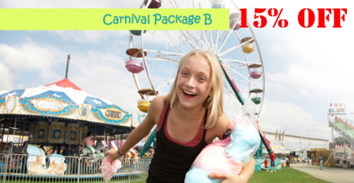 carnival party package b