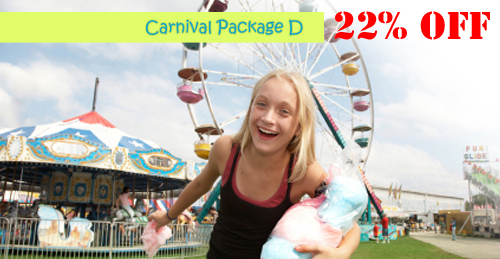 carnival party package d