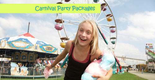 carnival themed party packages