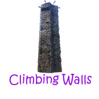 Climbing Wall Party Rentals, Climbing Wall Interactive Games