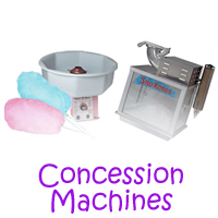 Sun Valley Concession machine rentals