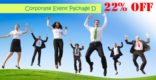 corporate event rental package d