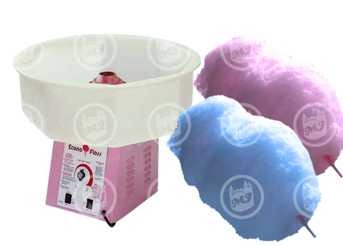 concession machines, cotton candy