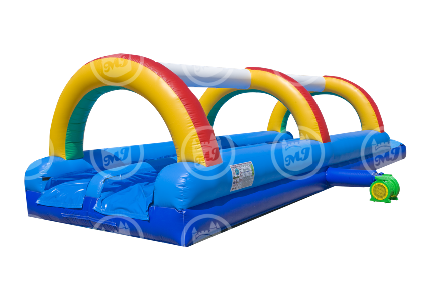 dual slip n slide, water slide, inflatable water slide