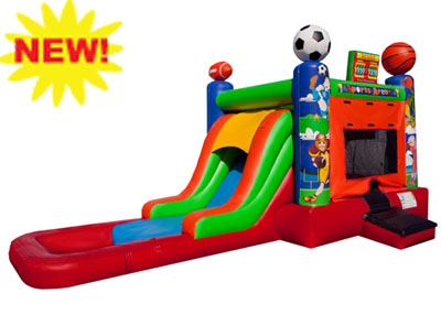EZ sports combo waterslide rental