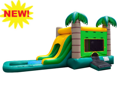 EZ tropical combo waterslide rental