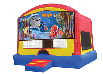 Finding Nemo bounce house rental