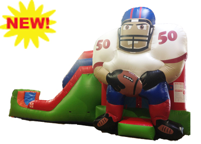 football inflatable rental