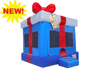 Gift Box Bounce House Rental