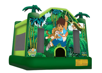 Go Diego Go Bouncer Rental