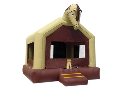 horse bouncer, inflatable bounce house,