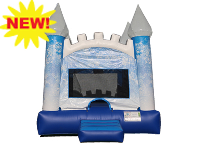 Ice Castle bounce House rental