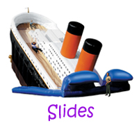 Manhattan Beach slide rentals, Manhattan Beach water slides