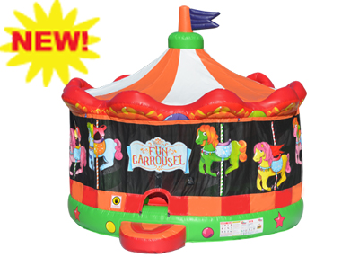 jumbo carrousel bounce house