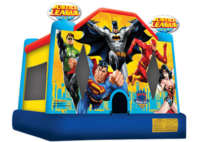 Justice League Superhero Bounce House