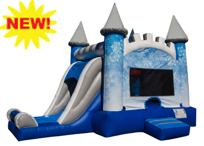 ice castle bounce and slide combo rental