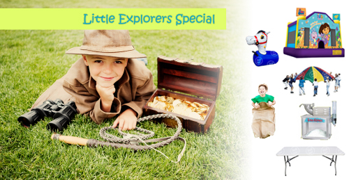Little Explorers Package