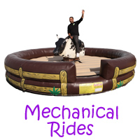 Claremont mechanical bull rental