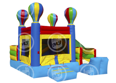 inflatable combo, bounce and slide, slide bouncer