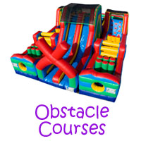 Party Rental Obstacle Courses