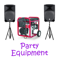 San Gabriel party equipment rentals