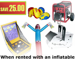 carnival games rental package deal