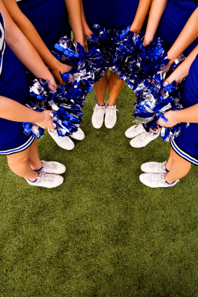 school events, pep rally, cheerleaders