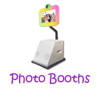photo booth party rentals, photo booth rentals