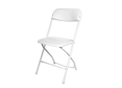 Plastic White Chair