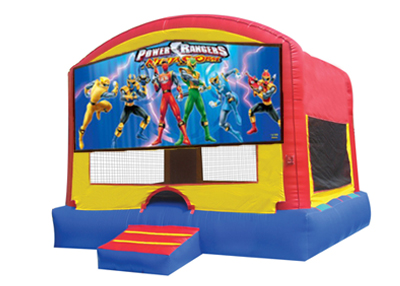 Power Rangers bounce house rental