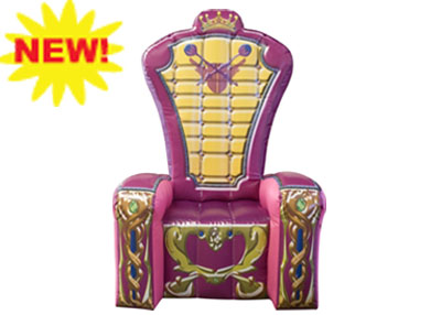 princess throne inflatable