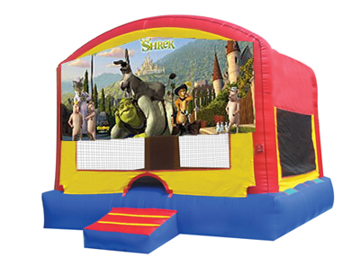 Shrek bounce house rental