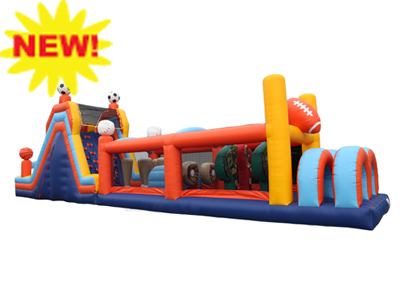Sports Obstacle Course Rental