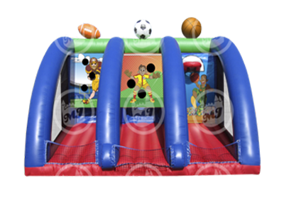 sports shootout, sports inflatable, inflatable sports game