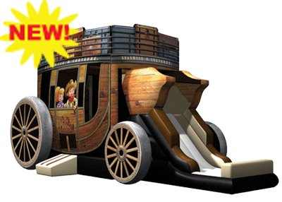 stagecoach western inflatable rental