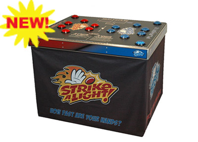 strike a light corporate game rental