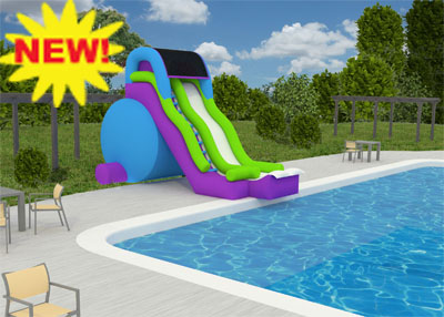 Summer Splash Pool Waterslide