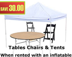tables chairs package