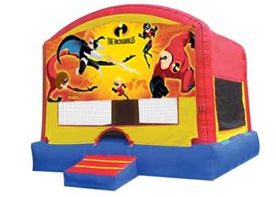 The incredibles bounce house rental