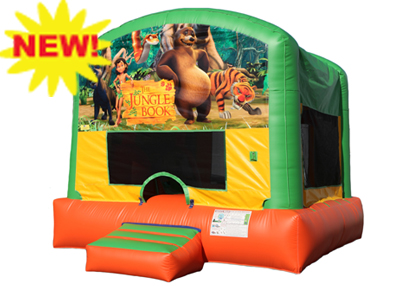 the jungle book bounce house rental