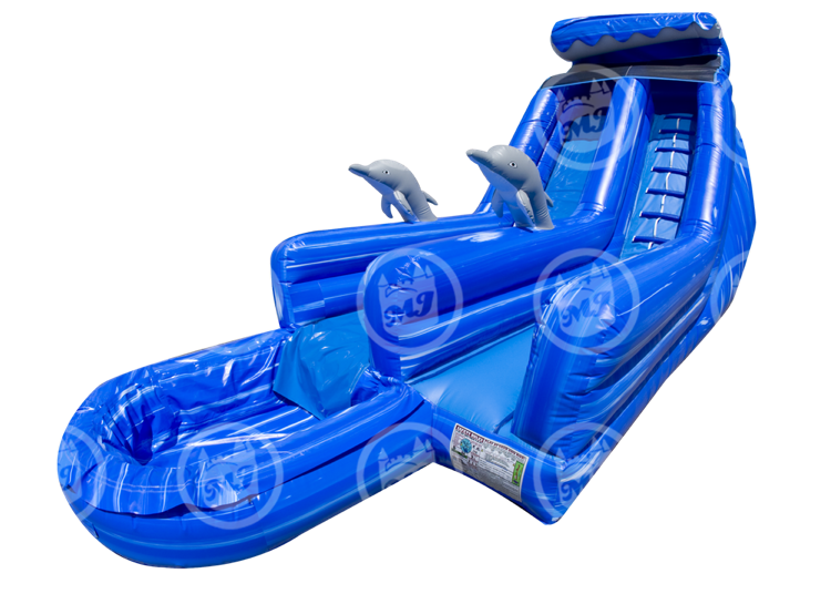 inflatable water slide, water slide, the wave slide