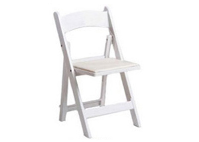 white elegant chair rentals