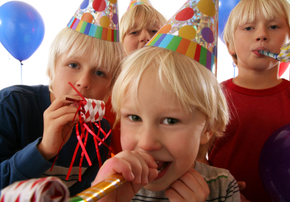 Planning a boys birthday party