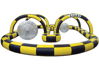 zorb ball inflatable derby rental