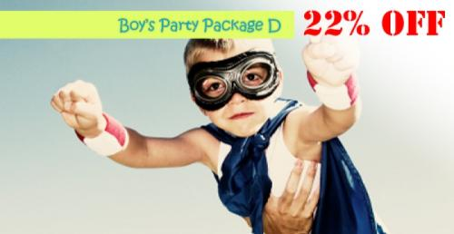 Boys Party Package D